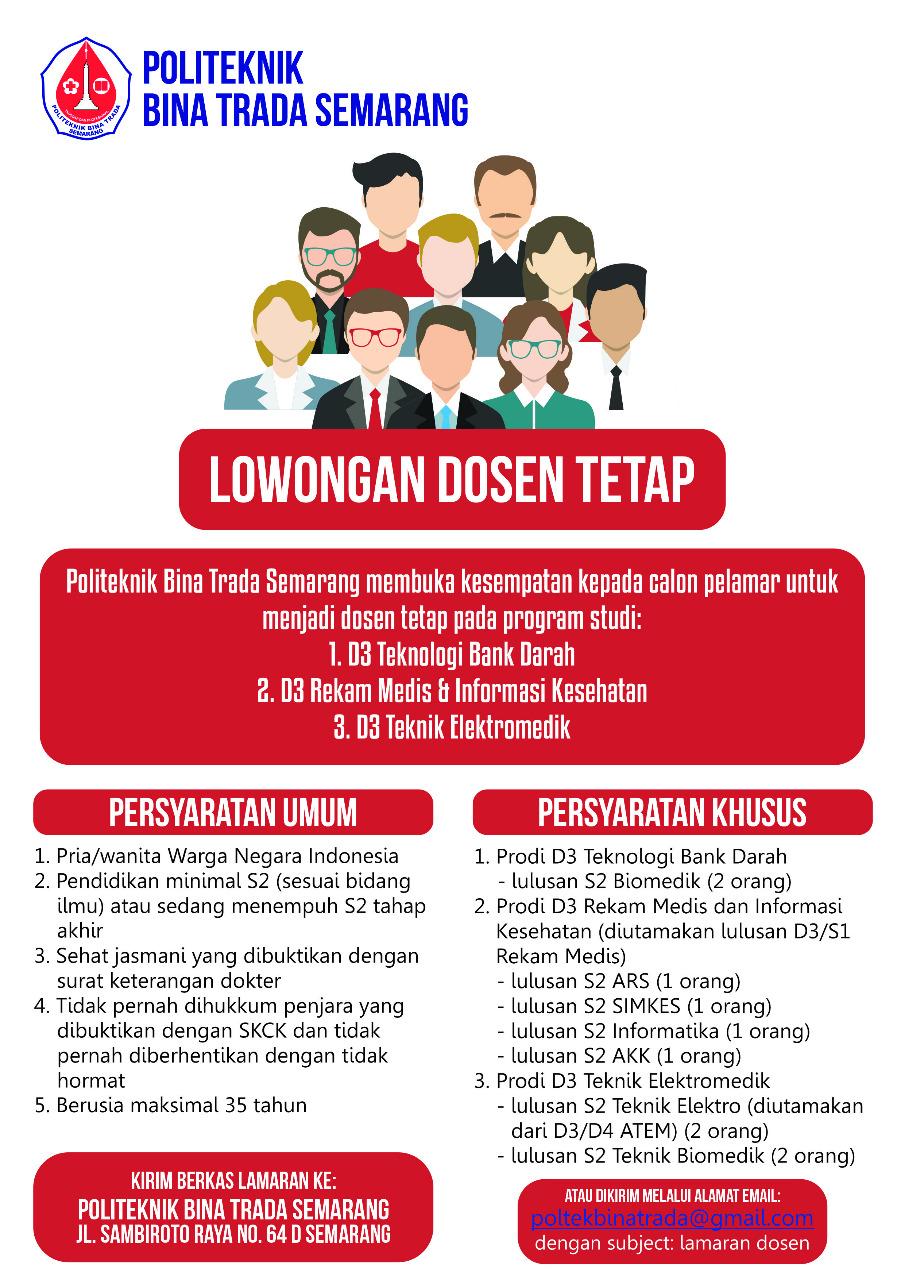 Info Lowongan Dosen