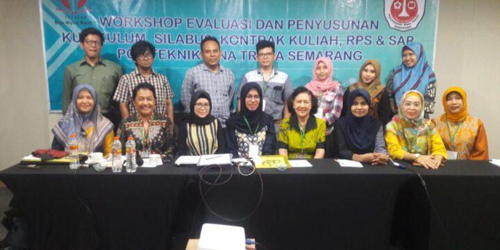 Workshop Evaluasi dan Penyusunan Kurikulum, Silabus, Kontrak Kuliah, RPS dan SAP
