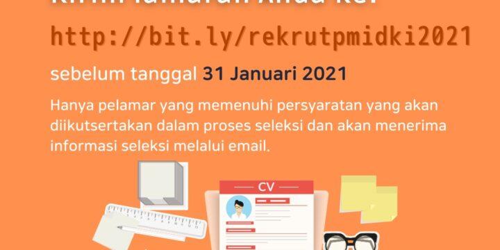 Lowongan Kerja – UTD PMI DKI JAKARTA