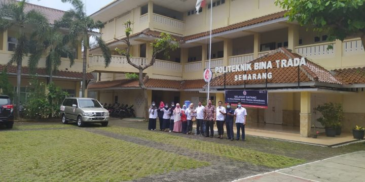 Kunjungan PMI Prov Jambi (Institut Teknologi Kepalangmerahan Jusuf Kalla)