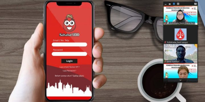 Aplikasi Sahabat UDD di penghargaan 25 x